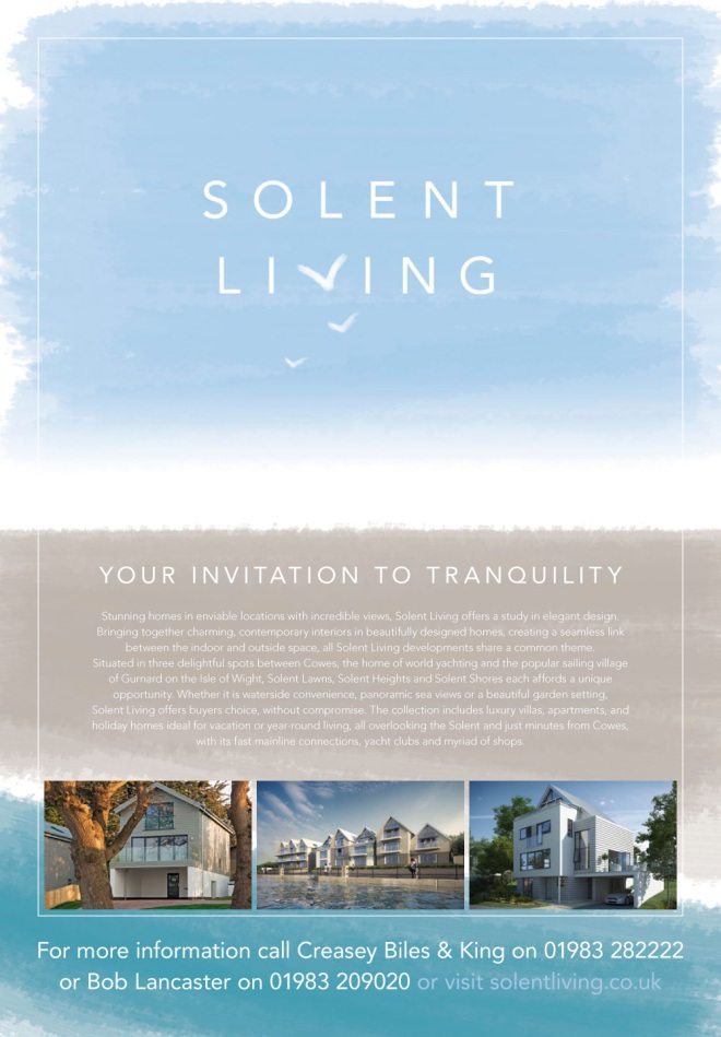 Solent Living - Magazine Advertisement