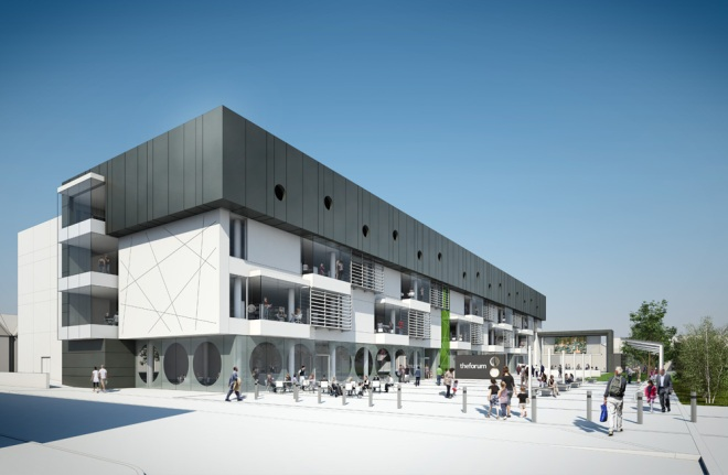 Southend Library - Architectural Visualisation / Competition CGI
