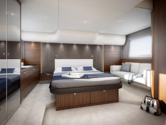 Princess 56 Flybridge Yacht - Stateroom